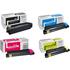 Kyocera TK-590BK/C/M/Y Original Black & Colour Toner Cartridge Multipack