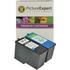 Lexmark 14 / 15 18C2090 / 18C2110 Compatible Black & Colour Ink Cartridge Pack