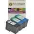 Lexmark 14 Compatible Black x 1 & 15 Compatible Colour x 2 Ink Cartridges
