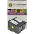 Lexmark 2/3 18C0190E / 18C1530E Compatible Black & Colour Ink Cartridge Pack