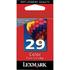 Lexmark 29 / 18C1429e Original Colour RETURN PROGRAM Ink Cartridge