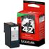 Lexmark 42 / 18Y0142e Original Moderate Use Black Ink Cartridge