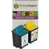 Lexmark 70 / 12A1970 & 20 / 15M0120 Compatible Black & Colour Ink Cartridge Pack