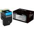 Lexmark 70C0X20 (700X2) Original Extra High Capacity Cyan Cartridge