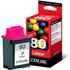 Lexmark 80 / 12A1980 Original Colour Ink Cartridge