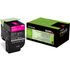 Lexmark 80C20M0 (802M) Original Magenta Toner Cartridge