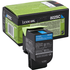 Lexmark 80C2SC0 (802SC) Original Cyan Toner Cartridge