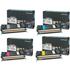 Lexmark C5220 KS/CS/MS/YS Original Black (BK/C/M/Y) Toner Cartridge Multipack