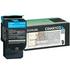 Lexmark C544X1CG Original Extra High Capacity Cyan Toner Cartridge