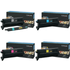 Lexmark C9202KH/CH/MH/YH Original Black & Colour Toner Cartridge Multipack