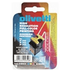 Olivetti B0043D Original Black & Colour Ink Cartridge 4 Pack