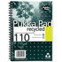 Pukka Pad A5 80gsm Wirebound Recycled Ruled & Perforated Notebook (110 Pages) (3 Pack)