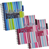 Pukka Pad A5 80gsm Wirebound Ruled & Perforated 3-Divider Project Book (250 Pages) (3 Pack - Assorted Colours)