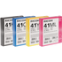 Ricoh GC41L (B/C/M/Y) Original Black & Colour Gel Cartridge Multipack