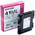 Ricoh GC41ML Original Magenta Gel Ink Cartridge