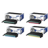Samsung CLP-660B BK/C/M/Y Original 4 High Yield Toner Cartridge Multipack