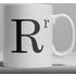 Alphabet Ceramic Mug - Letter R
