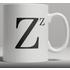 Alphabet Ceramic Mug - Letter Z