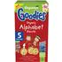 Organix Organic Alphabet Biscuits 25g x 5