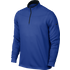 Nike Dri-Fit Half Zip LS Top - Royal Blue