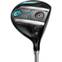 Cobra King F7 Fairway - Black / Blue; Right Hand / Fujikura Pro 55 / Ladies / #3-4