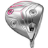 Cobra King F7 Womens Driver - Silver / Pink; Right Hand / Fujikura Pro 50 / Ladies