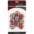 Brand Fusion 9 Stripe Practice Balls - Rainbow