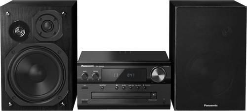 Panasonic SC-PMX94 Stereoanlage AUX, Bluetooth®, DAB+, CD, UKW, High-Resolution Audio 2 x 60W Schwa