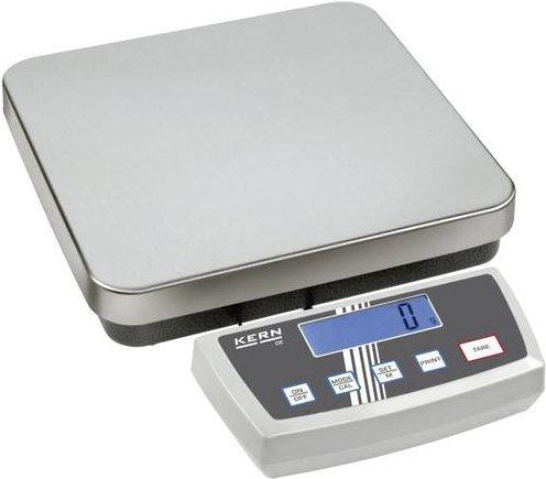 Kern Paketwaage Wägebereich (max.) 15kg Ablesbarkeit 2 g, 5g netzbetrieben, batteriebetrieben Silbe