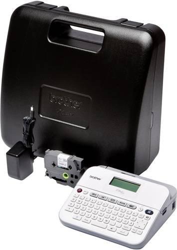 Brother P-Touch D400VP Beschriftungsgerät Geeignet für Schriftband: TZe 3.5 mm, 6 mm, 9 mm, 12 mm,
