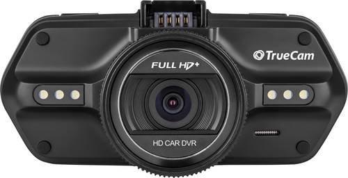 TrueCam A7s Dashcam mit GPS Blickwinkel horizontal max.=130° 12 V, 24V Display, Mikrofon, Akku