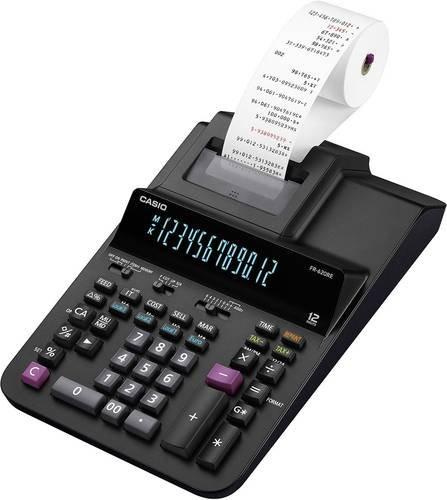 Casio FR-620RE Druckender Tischrechner Schwarz Display (Stellen): 12 netzbetrieben (B x H x T) 205 x