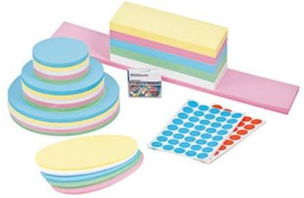 Legamaster Nachfüllset Moderationskoffer farbig sortiert 2790 Teile/Pack. 1St.
