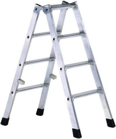 ZARGES 42464 Aluminium Stufen-Stehleiter klappbar 8.1kg