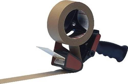 TESA Klebeband-Abroller Blau, Rot Rollenbreite (max.): 50mm Mit Bremsvorrichtung, Messer austauschba