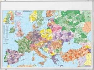 FRANKEN Europakarte Stahlblech
