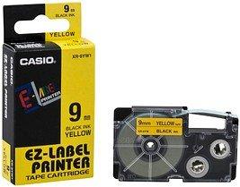 CASIO Beschriftungsband XR-9YW schwarz auf gelb 9 mm