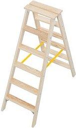 KRAUSE Stehleiter Stabilo 2x 6 Stufen