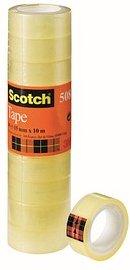Scotch 508 Klebefilm transparent 15,0 mm x 10,0 m 10 Rollen