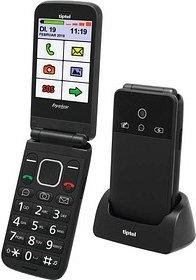 tiptel Ergophone 6370 Pro Großtasten-Handy schwarz