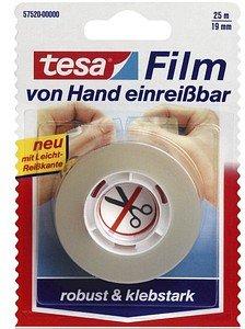 tesa   Klebefilm transparent 19,0 mm x 25,0 m 1 Rolle