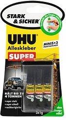UHU Strong & Safe Alleskleber 3 x 1 g