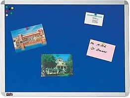 dots Pinnwand 60,0 x 45,0 cm Textil blau