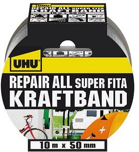 UHU Repair All Super Fita Gewebeband silber 50 mm x 10 m 1 St.