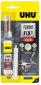 UHU Turbo Fix Plastik 2 Komponenten-Kleber 10,0 g