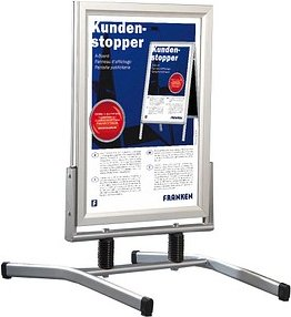 FRANKEN Kundenstopper Outdoor Plus