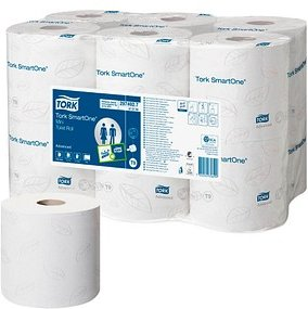 TORK Toilettenpapier SmartOne® T9 Mini 2-lagig
