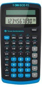AKTION: TEXAS INSTRUMENTS TI-30 ECO RS Wissenschaftlicher Taschenrechner