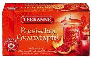 TEEKANNE Persischer Granatapfel Tee  20 Teebeutel à 2,25 g