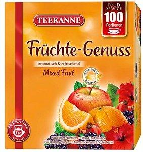 TEEKANNE Früchte Genuss Tee 100 Tassenportionen à 2,0 g